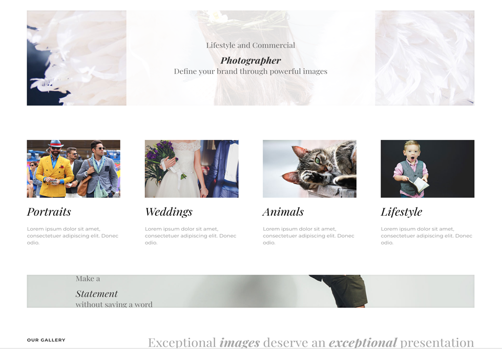 Photo - WordPress website design services